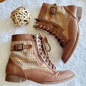 Gianni Bini GB Girls Leather Boots